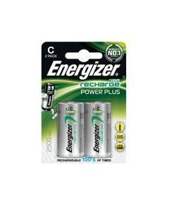Energizer Recharge Power Plus C / NH35 2500mAh Batterier (2 Stk. Pakning)