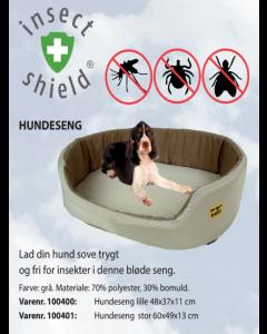 Insect Shield Hundeseng lille 48x37x11 (Grå)