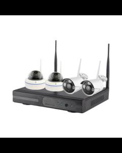 4CH Kamera System - 1080p Wi-Fi