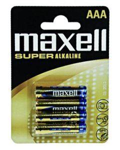 Batteri MAXELL alkalisk AAA/LR03