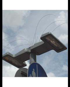 Fuglepigge til gadelampe (333 mm)
