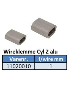 Fugletrådslås 1 stk. til 1mm.wire