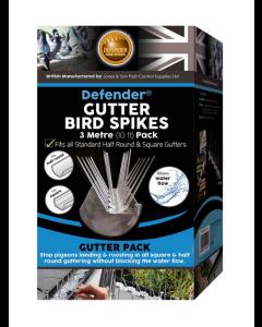 Defender® 3 meter tagrende fuglepigge