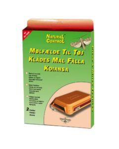 Klædemølfælde 2 stk. i pakken inkl. feromon