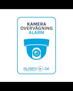 Alarm Klistermærke (Blå)