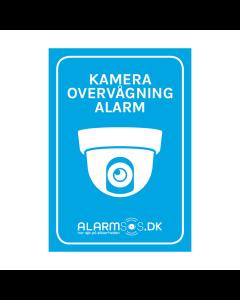 Alarm Klistermærke (Hvid)