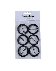 Låseringe til NiceTrap Musefælde - tilbehør