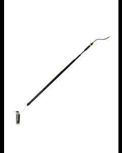 Teleskop pudderblæser 8m inkl. kompressionstank