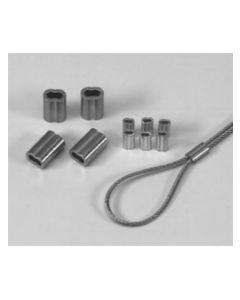 Wirelås t/ stålwire 2mm ( 1 stk.)